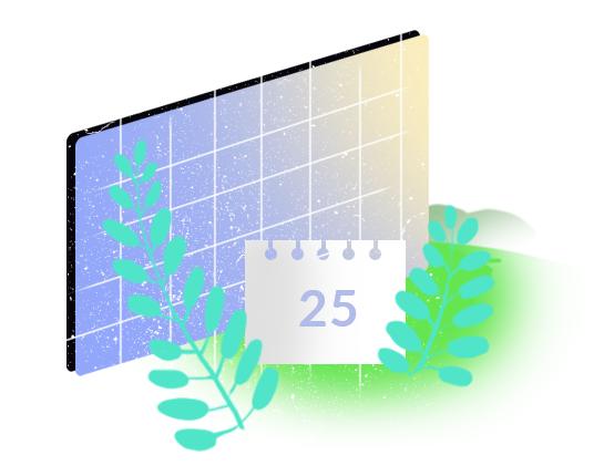 Zdjęcie graficzne ukazujące baterię słoneczną ze znakiem akceptacji